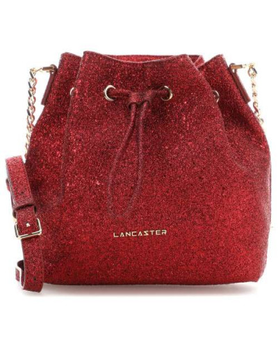 Actual Shiny Bucket bag rot metallic