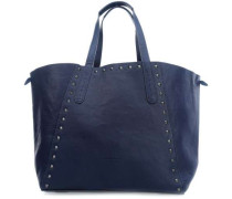 NiigataF7 Reversible Shopper dunkelblau