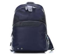 Coleos 12'' Laptop-Rucksack blau