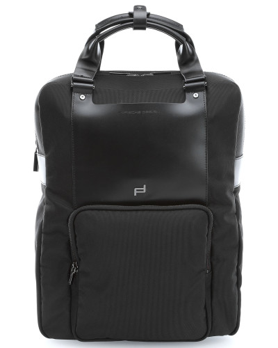 porsche design herren shyrt nylon 12 39 39 laptop rucksack schwarz reduziert. Black Bedroom Furniture Sets. Home Design Ideas