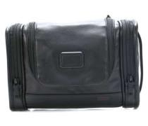 Alpha Travel Leather Kulturbeutel