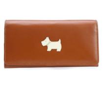 Heritage Dog Geldbörse Damen tan