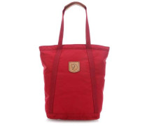 No. 4 Tall 15'' Shopper dunkelrot