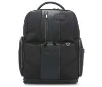 Brief Laptop-Rucksack 15.6″ schwarz