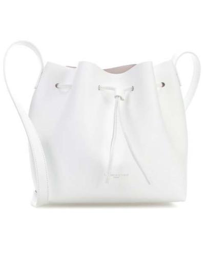Pur & Element Bucket bag weiß