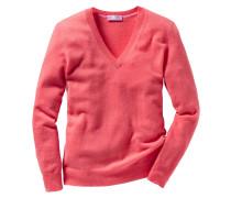 V-Pullover aus Cashmere