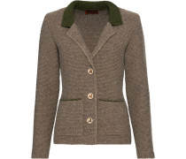 Linksstrickjacke mit Revers