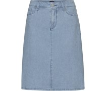 5-Pocket-Jeansrock, gestreift
