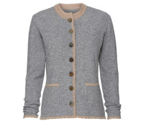 Strickjacke mit Patches