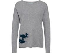Pullover mit Entenmotiv