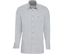 Langarm-Streifenhemd