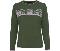 Pullover mit Waldmotiv