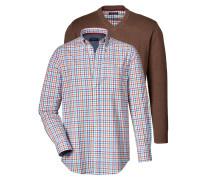 Set Pullover und Hemd