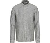 Leinen-Trachtenhemd Slim