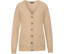 V-Cardigan mit Patches