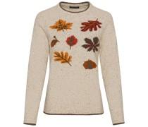Pullover mit Herbstlaub