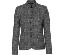 Tweed-Stehkragenjacke