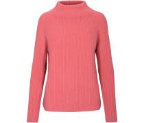 Cashmere-Pullover mit Stehkragen