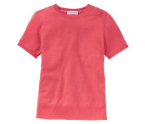 Cashmere-Pullover mit Halbarm