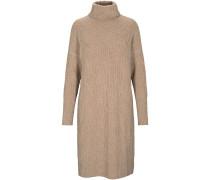 Zopfstrick-Kleid aus Cashmere