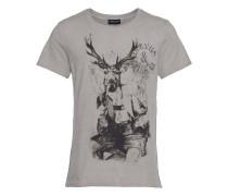 T-Shirt mit Hirschprint