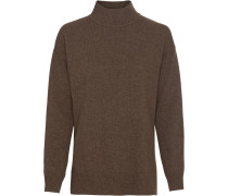 Legerer Stehkragen-Pullover