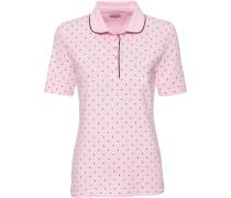 Piqué-Poloshirt mit Punkten