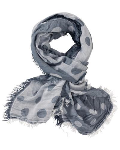 Schal mit Tupfen