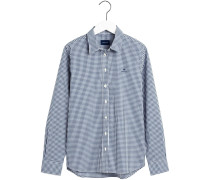 Broadcloth Gingham Bluse