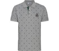 Poloshirt mit Hirsch