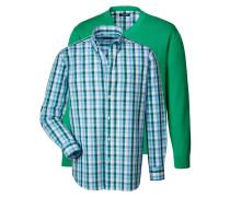Set mit Pullover und Hemd