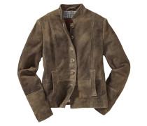 Jacke aus Ziegenvelours