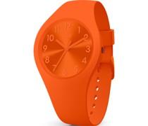-Uhren Analog Quarz Orange 32015105