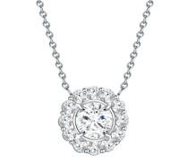 Halskette Sterling Silber Zirkonia