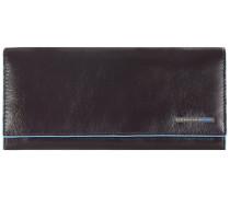 Blue Square Geldbörse Leder 18 cm