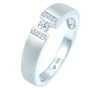 Ring Verlobungsring Diamant (0.14 ct.) 585 Weißgold