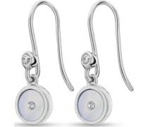 -Ohrhänger 925er Silber 2 Zirkonia One Size 88184734