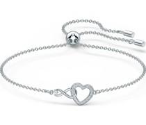 -Armband INFINITY ARMBAND SIMPLE Metall, Metall -Kristall One Size 87903991