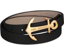 Unisex-Armband Leder/Edelstahl S 32003822