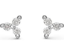 Diamonds-Ohrstecker 375er Weißgold 6 Diamant One Size 87492621
