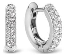 -Creolen 925er Silber Silber Silber 32013841
