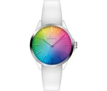 -Uhren Analog Quarz One Size Silikon 86982226