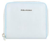 B2 Blue Square Geldbörse RFID Leder 11 cm