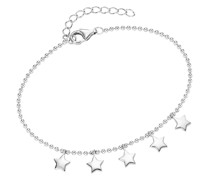 Armband mit kleinen Sternen als Behang, Silber 925