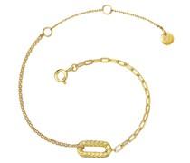 Armband Sterling Silber gelbgold Silberarmband