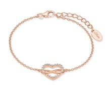 Armkette für, Sterling Silber 925, Zirkonia Herz