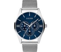 -Uhren Analog Quarz One Size Edelstahl 87754685