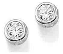 -Ohrstecker 925er Silber Zirkonia One Size 84853755