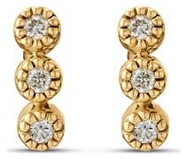 -Ohrstecker 6 Diamant Weißgold 32013519