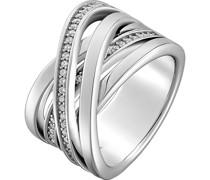 Silver-Damenring 925er Silber 50 Zirkonia 59 32005353
